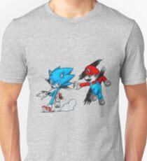 Mario Vs Sonic T-Shirt