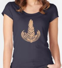 Creamy Rosetta Women's Fitted Scoop T-Shirt