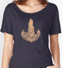 Creamy Rosetta Women's Relaxed Fit T-Shirt