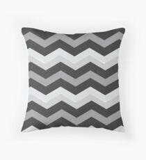 Beautiful Cushions/Chevron/ Grey and White Throw Pillow