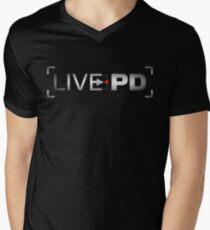 live pd Men's V-Neck T-Shirt
