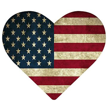 American Flag Heart by Nathan26