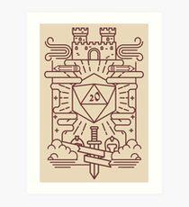 Whimsical RPG Art Print