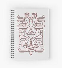 Cuaderno de espiral RPG caprichoso