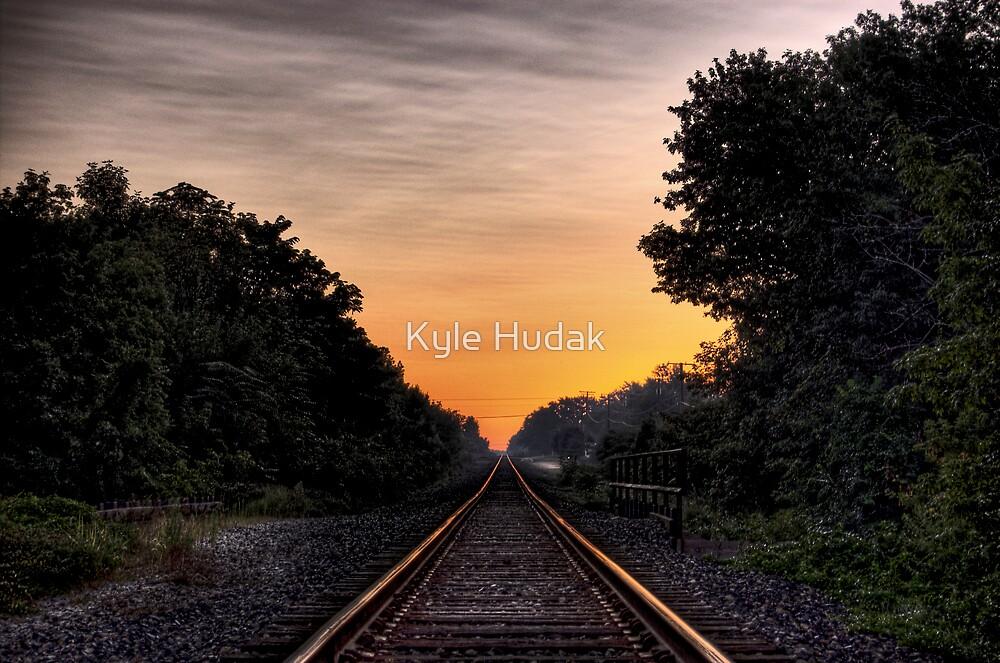 Rails to Dawn by Kyle Hudak