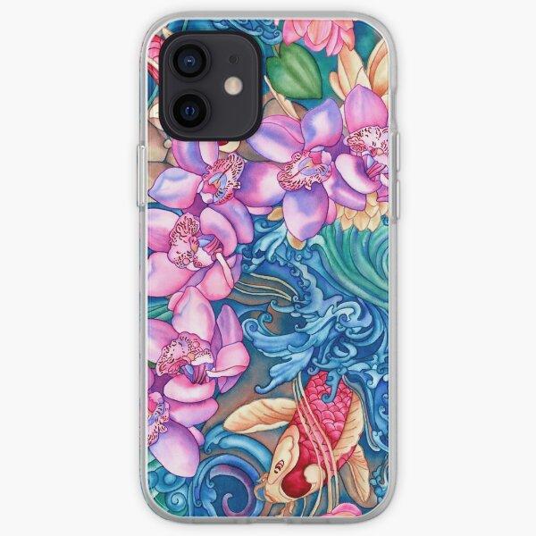 Orchid Splash iPhone Soft Case