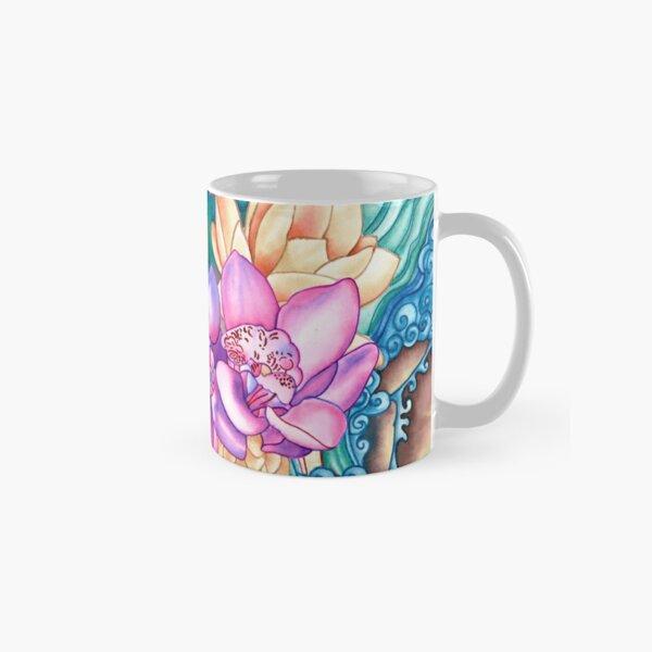 Orchid Splash Classic Mug