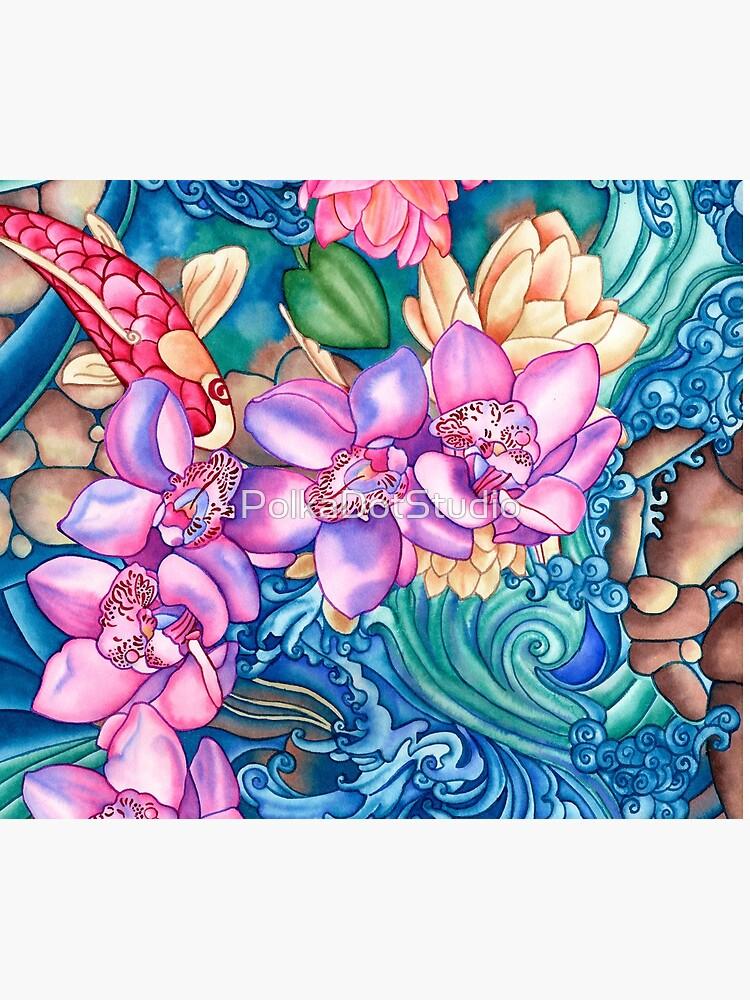 Orchidee-Spritzen von PolkaDotStudio