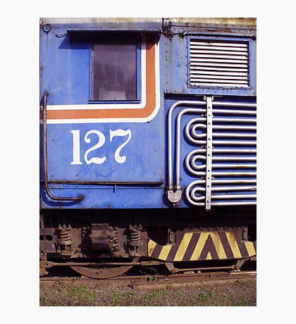 Windows of a Costa Rican Locomotive Photographic Print