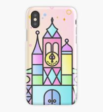 It's a Small World After All Colourful Castle iPhone Case/Skin