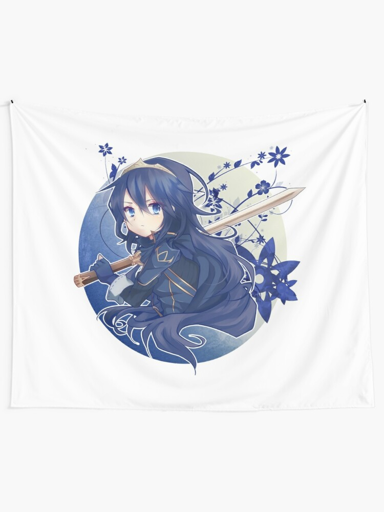 Lucina Fire Emblem Wall Tapestry By Fitzlav Redbubble