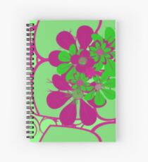 APPLE GREEN LEAFY Spiral Notebook