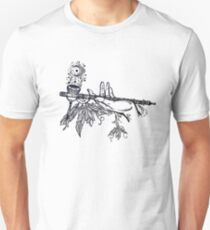 Peace Pipe Offering // Native American Art T-Shirt