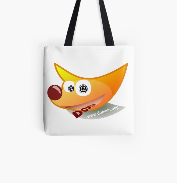 Domain.Dog Logo All Over Print Tote Bag