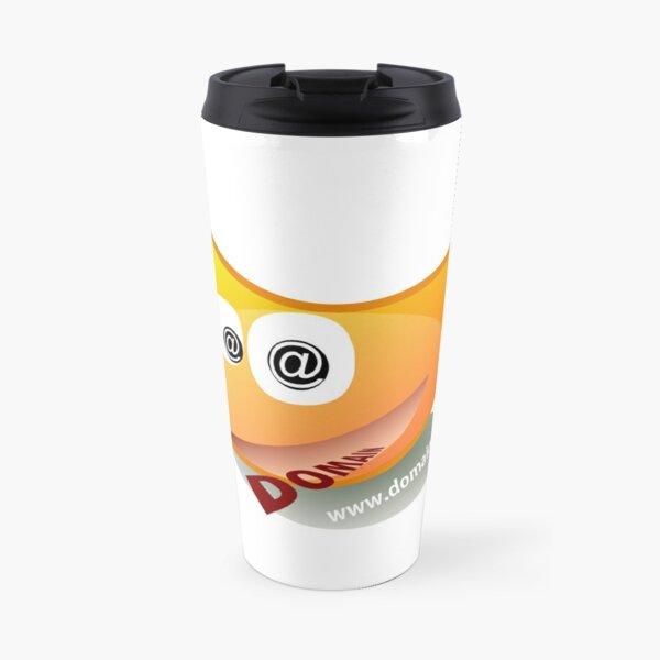 Domain.Dog Logo Travel Mug