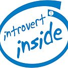 Introvert Inside (blue) by IntrovertInside