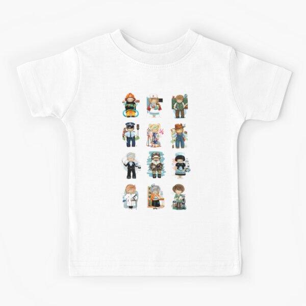 Occupations & Vocations Kids T-Shirt