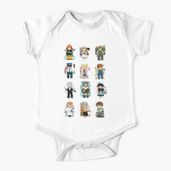 Occupations & Vocations Short Sleeve Baby One-Piece