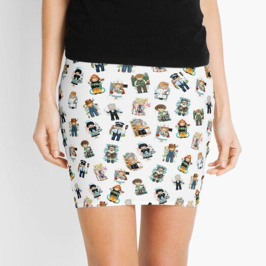 Occupations & Vocations Mini Skirt