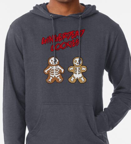Rise of the Gingerdead cookies for Halloween Lightweight Hoodie