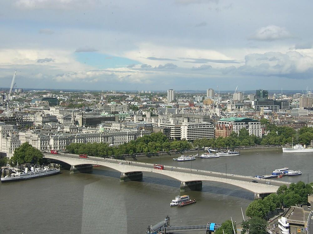 London from the Eye by yankeegrl99