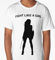 Fight like a girl Long T-Shirt