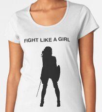 Fight like a girl Women's Premium T-Shirt
