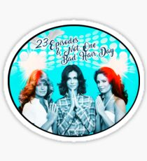 ...Not One Bad Hair Day Sticker