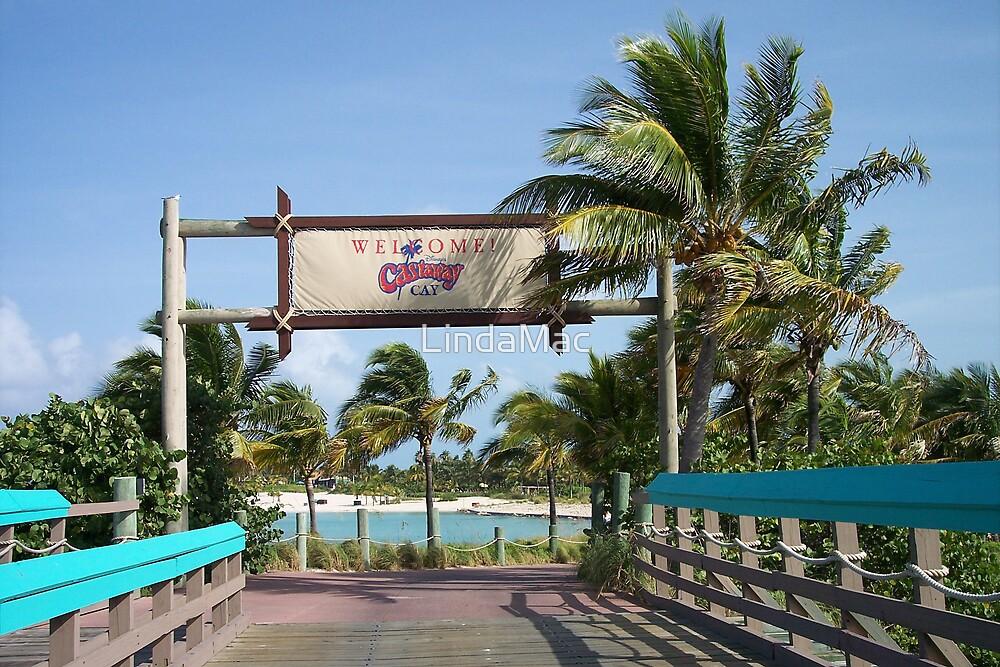 Castaway Cay Bridge by LindaMac