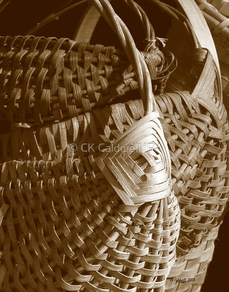 White Oak Baskets by © CK Caldwell IPA