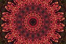 Red Leaf Mandala by JanusianGallery