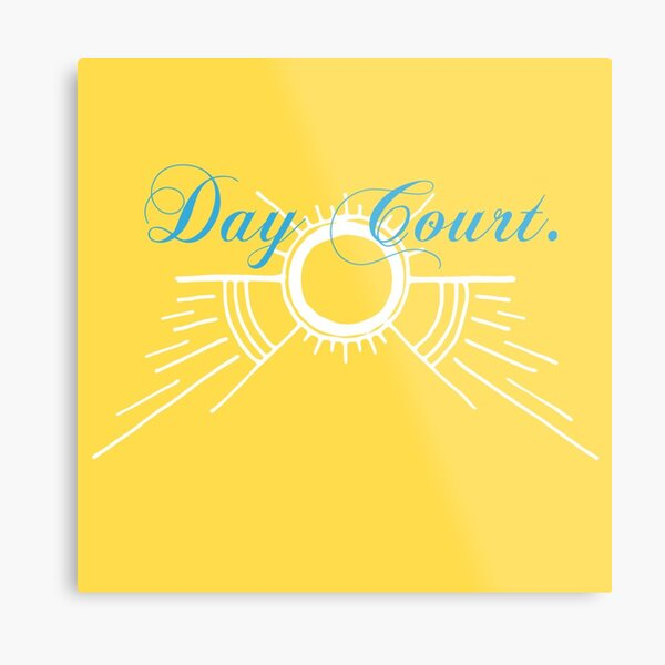 Courts of Prythin - Day Court.  Metal Print