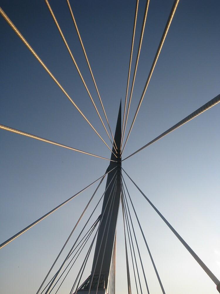 Promenade Bridge Winnipeg by Robert Jenner