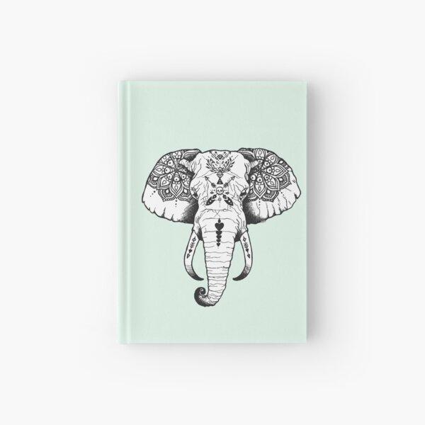 Elephant Tattooed Hardcover Journal