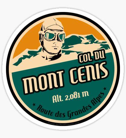 Route des Grandes Alpes France T-Shirt Sticker - Col du Mont Cenis 1 Sticker