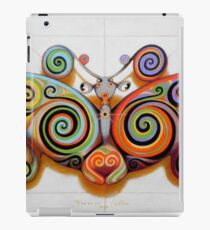 Psychedelic moth iPad Case/Skin