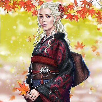 Dragon kimono by Tsuyoshi