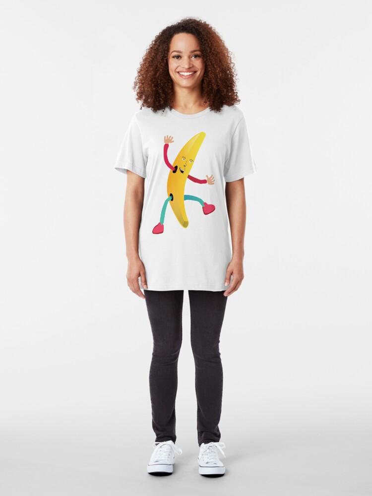 Alternate view of Banana Man Slim Fit T-Shirt