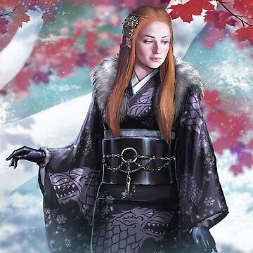 Wolf Kimono by Tsuyoshi