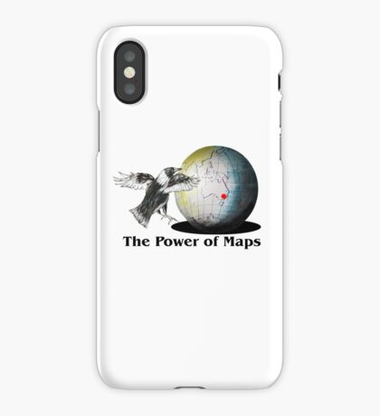 The Power of Maps iPhone Case/Skin