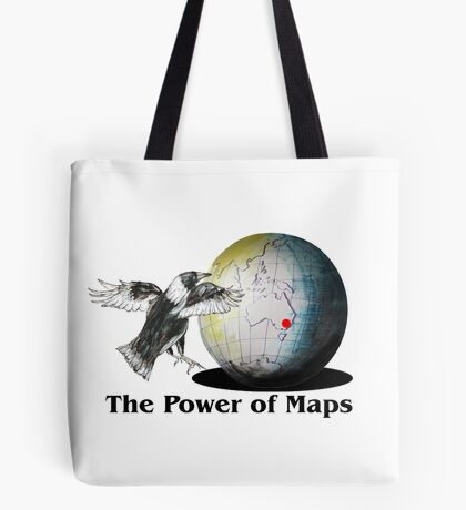 The Power of Maps Tote Bag