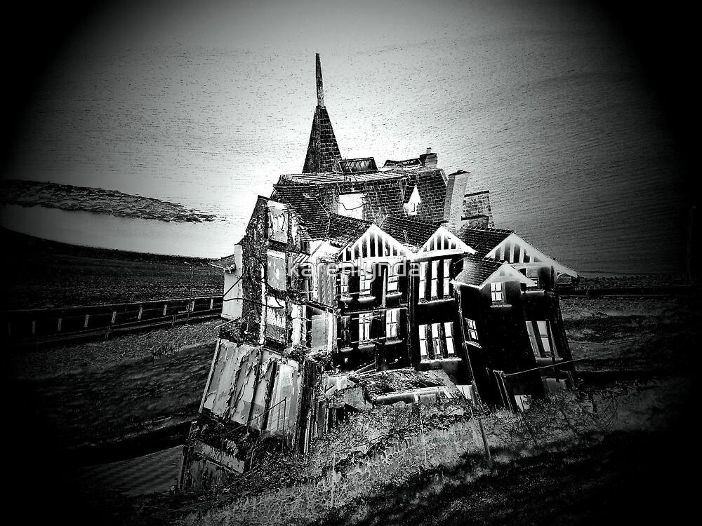 Haunted Halloween House by karenlynda