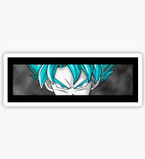 Goku Super Saiyan Blue Dragon Ball Super Transformation Sticker