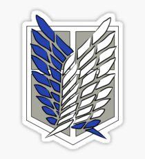 Shingeki no kyojin - Scouting legion Sticker