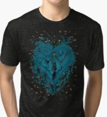 Kingdom Hearts - Feel the Darkness T-shirt chiné