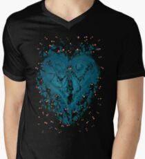 Kingdom Hearts - Feel the Darkness Men's V-Neck T-Shirt
