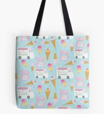 Icecream trucks Tote Bag