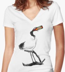 Ibis Women's Fitted V-Neck T-Shirt