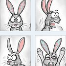 Rabbit Profile Pictures by Jed Dunstan