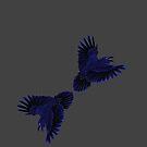 Odin's Ravens - Thought & Memory by Kestrelle